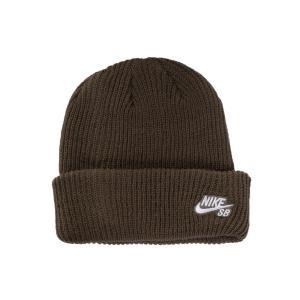 ナイキ Nike ユニセックス ニット ビーニー 帽子 - SB Fisherman Mid Olive/White - Beanie green|fermart-hobby