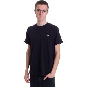 フレッドペリー Fred Perry メンズ Tシャツ トップス - Ringer Navy - T-Shirt blue|fermart-hobby