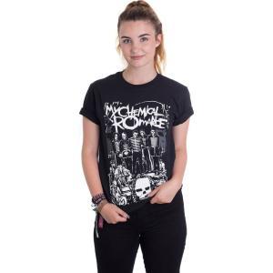 インペリコン Impericon レディース Tシャツ トップス - Dead Parade - T-Shirt black|fermart-hobby