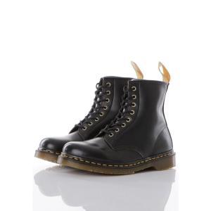 ドクターマーチン Dr. Martens メンズ ブーツ シューズ・靴 - Vegan 1460 Black Felix Rub Off - Shoes black|fermart-hobby