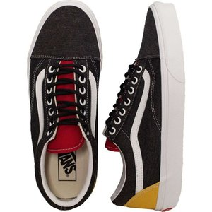 ヴァンズ Vans メンズ スケートボード シューズ・靴 - Old Skool ( Coastal) Black/True White - Shoes grey|fermart-hobby