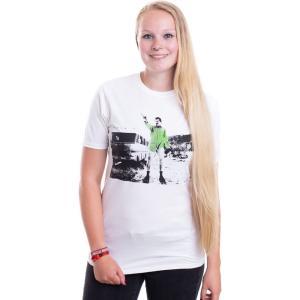 インペリコン Impericon レディース Tシャツ トップス - Walter White Duotone White - T-Shirt white fermart-hobby