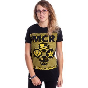 インペリコン Impericon レディース Tシャツ トップス - Lock Box - T-Shirt black|fermart-hobby