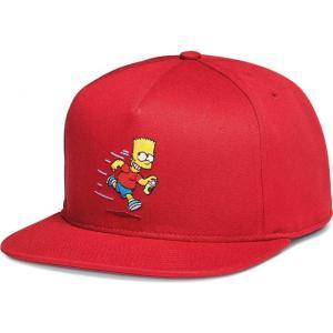 ヴァンズ Vans x Simpsons ユニセックス キャップ 帽子 - El Barto Red - Cap red|fermart-hobby