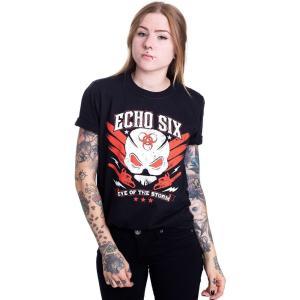 インペリコン Impericon レディース Tシャツ トップス - Echo Six - T-Shirt black|fermart-hobby