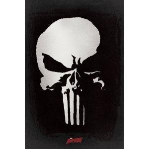 パニッシャー The Punisher グッズ ポスター - Skull - Poster black|fermart-hobby