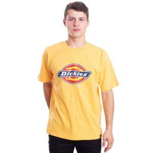 ディッキーズ Dickies メンズ Tシャツ トップス - Horseshoe Amber - T-Shirt yellow|fermart-hobby