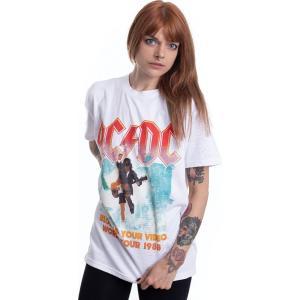インペリコン Impericon レディース Tシャツ トップス - Blow Up Your Video White - T-Shirt white|fermart-hobby