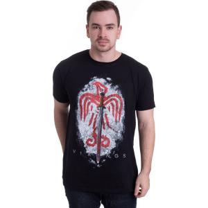 インペリコン Impericon メンズ Tシャツ トップス - Raven Sword - T-Shirt black|fermart-hobby
