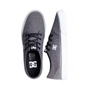 ディーシー DC メンズ スケートボード シューズ・靴 - Trase TX SE Black/Black/Battleship - Shoes grey|fermart-hobby