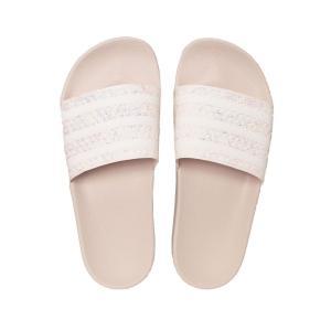 アディダス Adidas レディース サンダル・ミュール シューズ・靴 Adilette W Orctin/Ftw White/Orctin Sandals beige|fermart-hobby