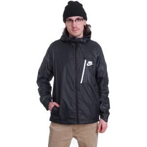 ナイキ Nike メンズ ジャケット アウター NSW AV15 JKT HD WVN WNGR Black/Black/White Jacket black|fermart-hobby