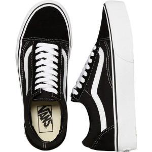 ヴァンズ Vans レディース スケートボード シューズ・靴 - Old Skool Platform Black/White black|fermart-hobby
