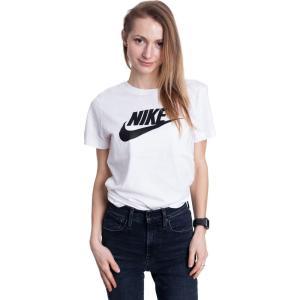 ナイキ Nike レディース Tシャツ トップス - Sportswear White/Black white|fermart-hobby