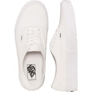ヴァンズ Vans レディース スケートボード シューズ・靴 - Authentic True White white|fermart-hobby