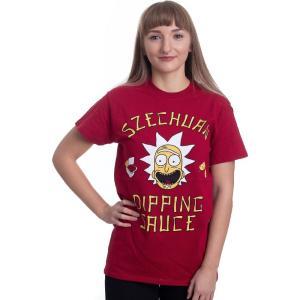 インペリコン Impericon レディース Tシャツ トップス - Szechuan Sauce Red - T-Shirt red fermart-hobby