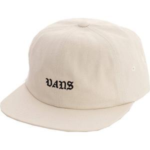 ヴァンズ Vans ユニセックス キャップ 帽子 - Trobe Jockey 6 Panel Antique White - Cap white|fermart-hobby