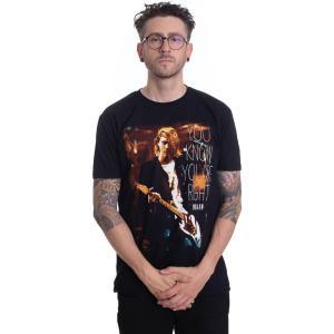インペリコン Impericon メンズ Tシャツ トップス - You Know You'Re Right - T-Shirt black fermart-hobby