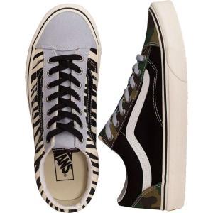 ヴァンズ Vans レディース スケートボード シューズ・靴 - Style 36 (Mismatch) Zebra/Camo|fermart-hobby