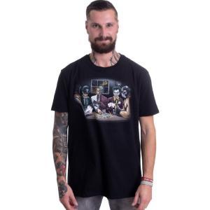インペリコン Impericon メンズ Tシャツ トップス - Villains Poker - T-Shirt black fermart-hobby