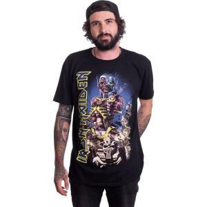 インペリコン Impericon メンズ Tシャツ トップス - Somewhere Back In Time Jumbo - T-Shirt black|fermart-hobby
