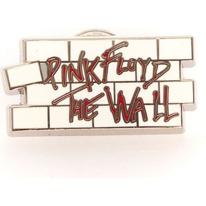 ピンクフロイド Pink Floyd グッズ - The Wall Logo - Pin black