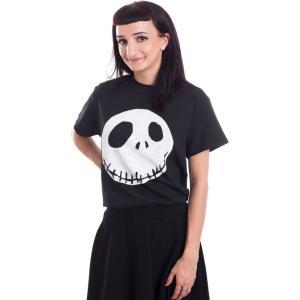 インペリコン Impericon レディース Tシャツ トップス - Cracked Face - T-Shirt black|fermart-hobby