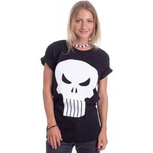 インペリコン Impericon レディース Tシャツ トップス - Skull Icon - T-Shirt black|fermart-hobby