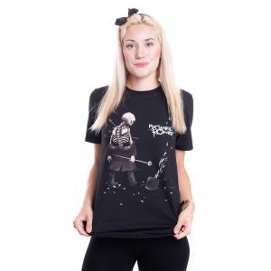 インペリコン Impericon レディース Tシャツ トップス - Shredded - T-Shirt black|fermart-hobby