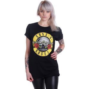 ガンズ アンド ローゼズ Guns N' Roses レディース Tシャツ トップス Bullet ...