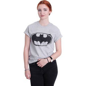 インペリコン Impericon レディース Tシャツ トップス - Sketch Logo Heather Grey - T-Shirt grey fermart-hobby