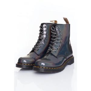 ドクターマーチン Dr. Martens レディース ブーツ シューズ・靴 - 1460 Pascal Vegan Gunmetal Prysm grey|fermart-hobby