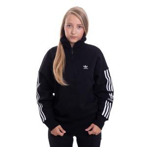 アディダス Adidas レディース ニット・セーター トップス - Lock Up Black - Sweater black|fermart-hobby