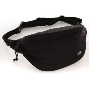 ディッキーズ Dickies ユニセックス ボディバッグ・ウエストポーチ バッグ High Island Black Hip Bag black|fermart-hobby