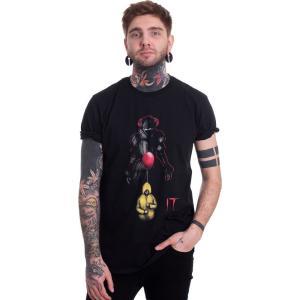 インペリコン Impericon メンズ Tシャツ トップス - Lurking Clown - T-Shirt black|fermart-hobby