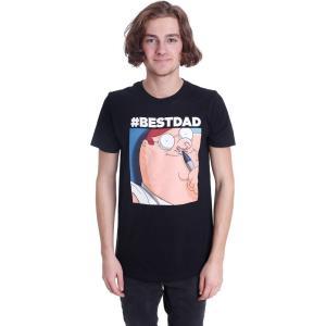 インペリコン Impericon メンズ Tシャツ トップス - Hashtag Best Dad - T-Shirt black|fermart-hobby