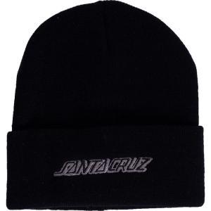 サンタクルーズ Santa Cruz メンズ ニット 帽子 Classic Strip Black Beanie black|fermart-hobby