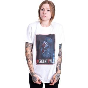 インペリコン Impericon レディース Tシャツ トップス - 2 Remake Zombie Cop White - T-Shirt white|fermart-hobby