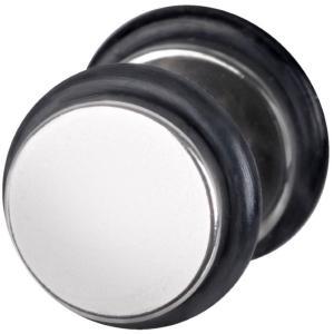 ワイルドキャット Wildcat ユニセックス イヤリング・ピアス ジュエリー・アクセサリー Steel Basicline Deluxe Silver Fake Plug grey|fermart-hobby