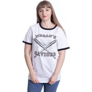 インペリコン Impericon レディース Tシャツ トップス - Negan's Saviors White - T-Shirt white|fermart-hobby