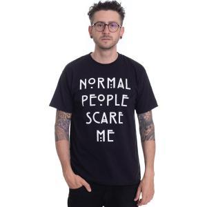 インペリコン Impericon メンズ Tシャツ トップス - Normal People - T-Shirt black fermart-hobby