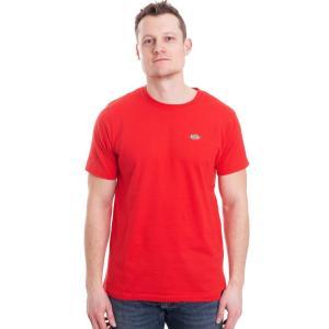 ディッキーズ Dickies メンズ Tシャツ トップス Stockdale Fiery Red T-Shirt red|fermart-hobby