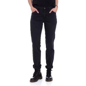 アイアン ネイル Ironnail レディース ジーンズ・デニム ボトムス・パンツ Bishop Straight Jeans black|fermart-hobby