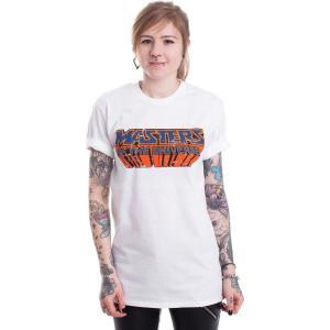 インペリコン Impericon レディース Tシャツ トップス - Washed Logo White - T-Shirt white|fermart-hobby