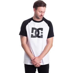 インペリコン Impericon メンズ Tシャツ ラグラン トップス - Star SS Raglan 2 Snow White/Black - T-Shirt white fermart-hobby