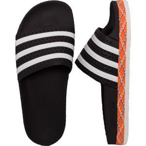 アディダス Adidas レディース サンダル・ミュール シューズ・靴 Adilette New Bold Core Black/White/Core Black Sandals black|fermart-hobby