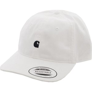 カーハート Carhartt WIP ユニセックス キャップ 帽子 - Madison Logo White / Dark Navy - Cap white|fermart-hobby