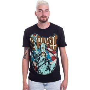 インペリコン Impericon メンズ Tシャツ トップス - Statue Of Liberty - T-Shirt black|fermart-hobby