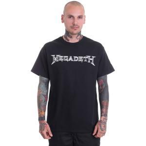 メガデス Megadeth メンズ Tシャツ トップス Logo T-Shirt black fermart-hobby