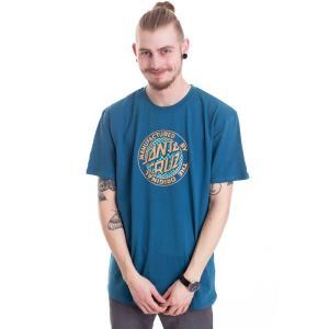 サンタクルーズ Santa Cruz メンズ Tシャツ トップス Fisheye MFG Ink Blue T-Shirt blue|fermart-hobby